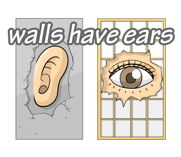 walls have ears