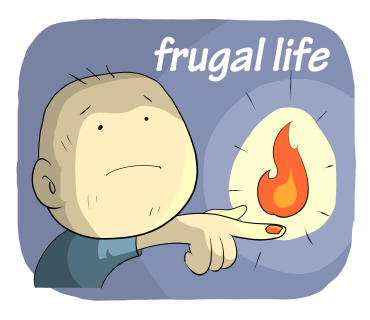 frugal life