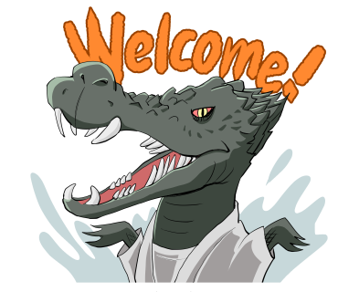Welcome! Crocodile