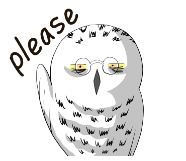 please snowy Owl