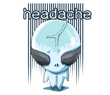 headache Alien